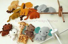 Free US Shipping SAFARI Jungle Fun Animals Musical by GiftsDefine