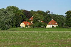 Gut Kartzitz in Mecklenburg-Vorpommern (Herren von Usedom, Carl Leitner, Familie von Schinckel).