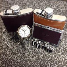 We have great gifts for your grooms party hip flasks pocket watches and cufflinks are perfect keepsakes for best men and ushers  @duncanwaltondesigns @marlboroughofengland #hipflasks diamond #emerald #tourmaline #sapphire #ruby #handmade #jewellery #diamondjewellery #gold #berkhamsted #hertfordshire #london #watch #luxury #england #engagementring #wedding #weddingring #baileyandsons #raymondweil #frederiqueconstant #cufflinks #clogau #bespokejewellery #pendant #ring #bracelet
