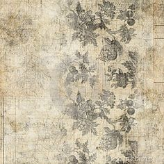 Grungy Antique Vintage Floral Background Stock Photos - Image: 20987213