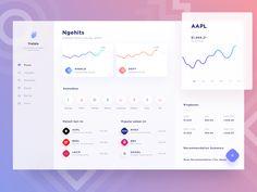 Stocks app dashboard