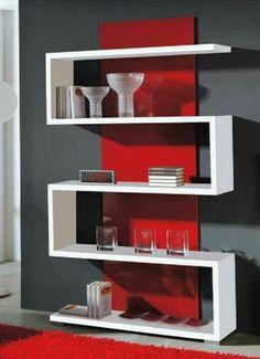 Bookshelf Design, Wall Shelves Design, Wood Shelves, Home Decor Furniture, Diy Home Decor, Home Living Room, Living Room Decor, House Design, Google