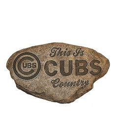Look at this #zulilyfind! Chicago Cubs Country Stone #zulilyfinds