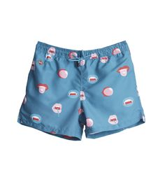 Big Mouth Swim Shorts Blue