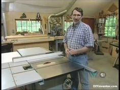 Table Saws 101 - PART 1 - A complete guide by Norm Abram - New Yankee workshop