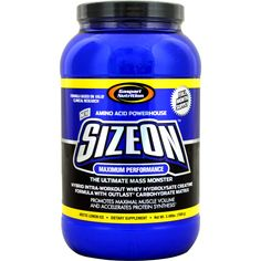Gaspari Nutrition SizeOn Max Artic Lemon Ice 3.49 lbs | Regular Price: $79.99, Sale Price: TOO LOW TO SHOW! | OvernightSupplements.com | #onSale #supplements #specials #Gaspari #PostWorkout  | Gaspari took Sports Nutrition to the highest level with SizeOn the original intra workout creatine drink As clinical research advances so does Gaspari Nutrition which is why SizeOn has now evolved into the Ultimate Hybrid Intra Workout Whey Hydosylate Creatine Formula SizeOn now uses a