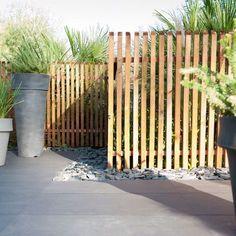 Pergola Garten Lounge - - - Pergola Walkway Attached To House - Long Pergola Patio Fence Design, Garden Design, Front Fence, Pergola Attached To House, Modern Fence, Garden Types, Backyard Pergola, Pergola Plans, Pergola Ideas