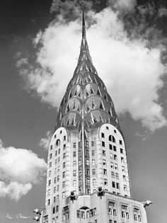 May 28, 1930 – The Chrysler Building in New York City officially opens…  Photo: Henri Silberman