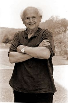 The amazing Dr Moshe Feldenkrais, a nuclear physicist and judo expert, who spoke 7 languages. He invented the Feldenkrais Method, initially with the aim or relieving severe pain in both knees caused by soccer injuries.