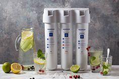 φίλτρο νερού AQUAPHOR Crystal 0.1mc - Καθαρό πόσιμο νερό. Βραβείο καλύτερου φίλτρου 2012 ! Η πυκνότητα διέλευσης του νερού από το crystal eco φτάνει 800 φορές μικρότερη από 1 ανθρώπινη τρίχα. Nutribullet, Crystal, Small Appliances, Filter, Kitchens