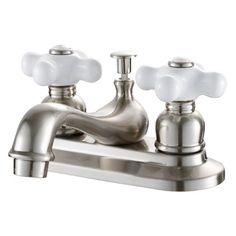 Lavatory Faucet Double Handle