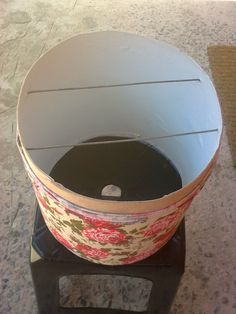 Lar Sempre Lar: Cúpula feita de Barrica de papelão, Linda.