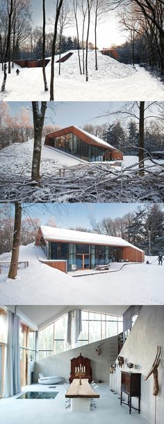 Dutch Mountain House, The Netherlands, http://www.denieuwegeneratie.nu/built/underground-house/