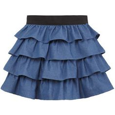Collection featuring Almost Famous Mini Skirts, Moschino Cheap & Chic Knee Length Skirts, and 125 other items Baby Dress Patterns, Skirt Patterns Sewing, Little Girl Dresses, Girls Dresses, Baby Skirt, Baby Frocks Designs, Skirts For Kids, Frock Design, Skirt Fashion