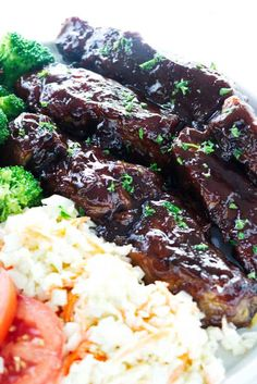 Country-style pork ribs in the oven turn out tender and delicious. These pork ribs have a double layer of caramelized barbecue sauce. Country Ribs Recipe, Country Style Pork Ribs, Smoked Pork Ribs, Bbq Pork, Bbq Ribs, Pork Rib Recipes, Pork Tenderloin Recipes, Smoker Recipes, Healthy One Pot Meals