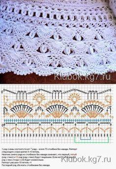patrón de crochet hermoso. | pista