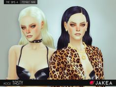 - New mesh  Found in TSR Category 'Sims 4 Female Hairstyles'