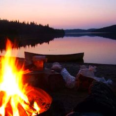 let's go camping and fall asleep to this kinda view.  Of course I will have two great views.  :)