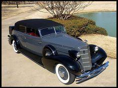 1934 Cad Fleetwood All-Weather Phaeton