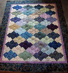 japanese jigsaw quilt pattern | Barb's Japanese Jigsaw