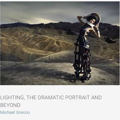 Michael Grecco will explain his techniques for creating light and shadow and will demonstrate how he creates his stylistic and drama images