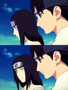 Neji Hyuuga and Tenten Naruto Shippuden Sasuke, Anime Naruto, Tenten Y Neji, Naruto Sasuke Sakura, Naruto Cute, Sakura Haruno, Naruhina, Anime English, Naruto Couples