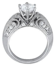 Diamond Rings » Vintage/Antique Design Solitaire Round Diamond Ring - 1.33ct. My Account     Cart Contents     Checkout     $8,606.00 $7,579.10  Vintage/Antique Design Solitaire Round Diamond Ring - 1.33ct.