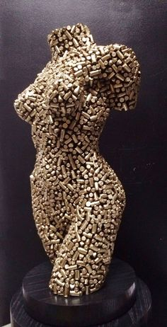 Bullet Torso - Sculpture by Niso Maman Metal Art Sculpture, Abstract Sculpture, Bronze Sculpture, Art Sculptures, Welding Art Projects, Metal Art Projects, Bullet Art, Mannequin Art, Deco Originale