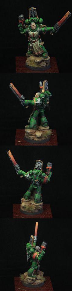 MiniAkh Painting Studio: Dark Angel Veteran Sergeant