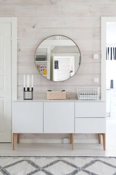 Round Wall Mirrors And Decorating Ideas