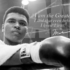 Muhammad Ali Quote Collection i am the greatest lessons from muhammad alis success Muhammad Ali Quote. Here is Muhammad Ali Quote Collection for you. Muhammad Ali Quote great inspirational muhammad ali quotes we can apply into our li. Mohamed Ali, Motivational Quotes For Athletes, Inspirational Quotes, Muhammad Ali Quotes, Evan, Float Like A Butterfly, My Champion, Boxing Champions, Anxiety Relief