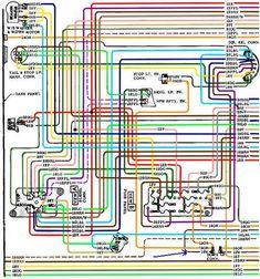 Chevy C10 Wiring Diagram 2 19671972 72 chevy truck