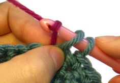 Crochet Spot » Blog Archive » How to Change Colors in Crochet - Crochet Patterns, Tutorials and News