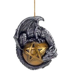 Fantasy Pagan Yule ornament.