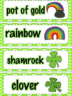 Apples and ABC's: St. Patrick's Day