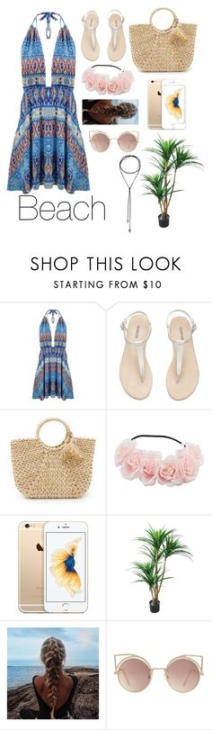 """Untitled #94"" by jenny-malik19 ❤ liked on Polyvore featuring Hat Attack and MANGO"