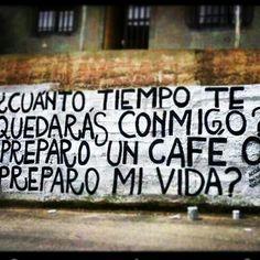 Preparo un caffè o preparo la vita?