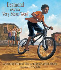 Based on a true story from the Archbishop Desmond Tutu's childhood, Desmond and the Very Mean Word depicts an incident in a South African town. While proudly riding his new bicycle, young Desmond is rudely insulted by some neighbourhood boys - and at first he responds angrily....A beautiful tale of forgiveness, as well as a lesson about how to handle bullying and angry feelings, this is a vibrantly illustrated, deeply warm-hearted story.
