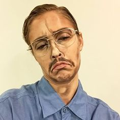 Kip from Napoleon Dynamite   Community Post: This Incredible Makeup Artist Can Transform Herself Into Anyone And...