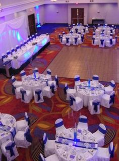 Trendy Wedding Decorations Blue And Silver Chair Covers Ideas Trendy Wedding, Elegant Wedding, Our Wedding, Dream Wedding, Wedding Blue, Police Wedding, Cobalt Wedding, Wedding Disney, Wedding Ideas Royal Blue And Silver