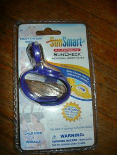 Sunsmart U V Exposure Sun Check Presonal Wrist Meter Free Shipping | eBay