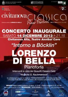 #CivitanovaClassica #PianoFestival INTORNO A #BÖCKLIN- #EtudesTableaux #Rachmaninov LORENZO DI BELLA,#Pianoforte