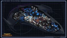 star wars the old republic ships | Starship Cutaway View