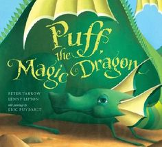Collectible, Signed! (Book + CD) Puff the Magic Dragon by Peter Yarrow