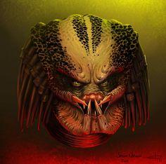 Predator - line art: PredatrHuntr.deviantart.com, color: edsfox.deviantart.com