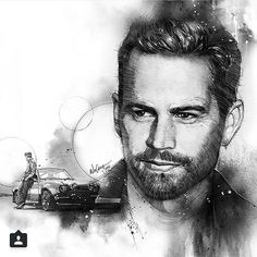 F - paulwalker Paul Walker Photos, Paul Walker Tribute, Rip Paul Walker, Paul Walker Tattoo, Paul Walker Wallpaper, Fast And Furious Cast, Carros Lamborghini, Photography Poses For Men, Celebrity Drawings