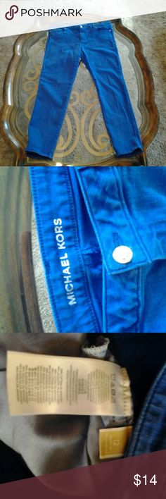 Michael kors jeans size 12 Michael kors jeans size 12 ( stretch pull at front  under zipper ) Michael kors  Jeans