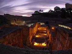 211 BC  Roman ruins  Terragona,  Spain