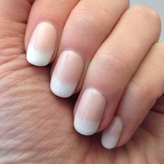 Gradient French manicure, using Julep Layne and Julep Brigitte. So pretty!
