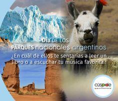 6 de noviembre Día de los Parques Nacionales argentinos.